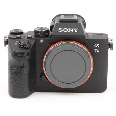 Used Sony A7 III Digital Camera Body