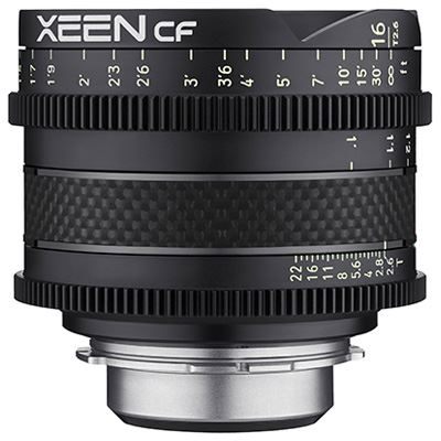 Samyang XEEN CF 16mm T2.6 Cine Lens - PL