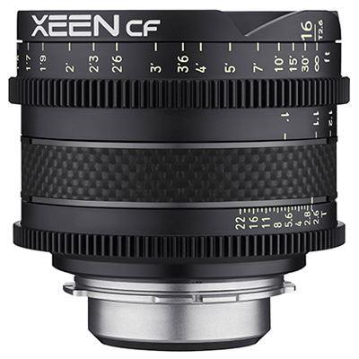 Samyang XEEN CF 16mm T2.6 Cine Lens - Sony FE