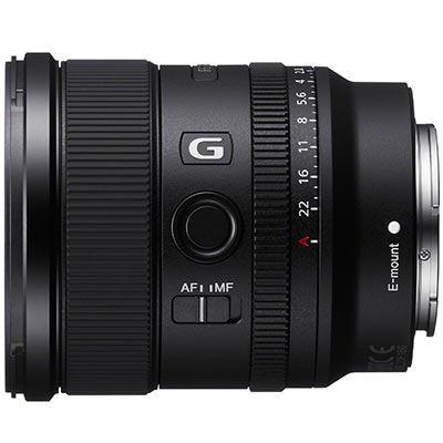 Sony FE 20mm f1.8 G Lens