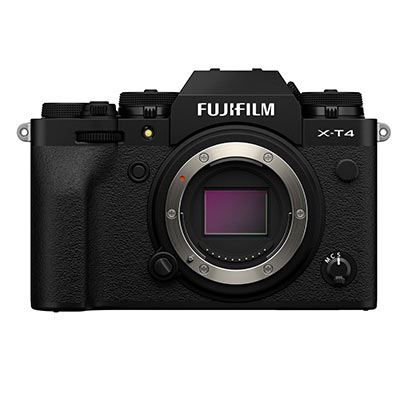Fujifilm X-T4 Digital Camera Body - Black