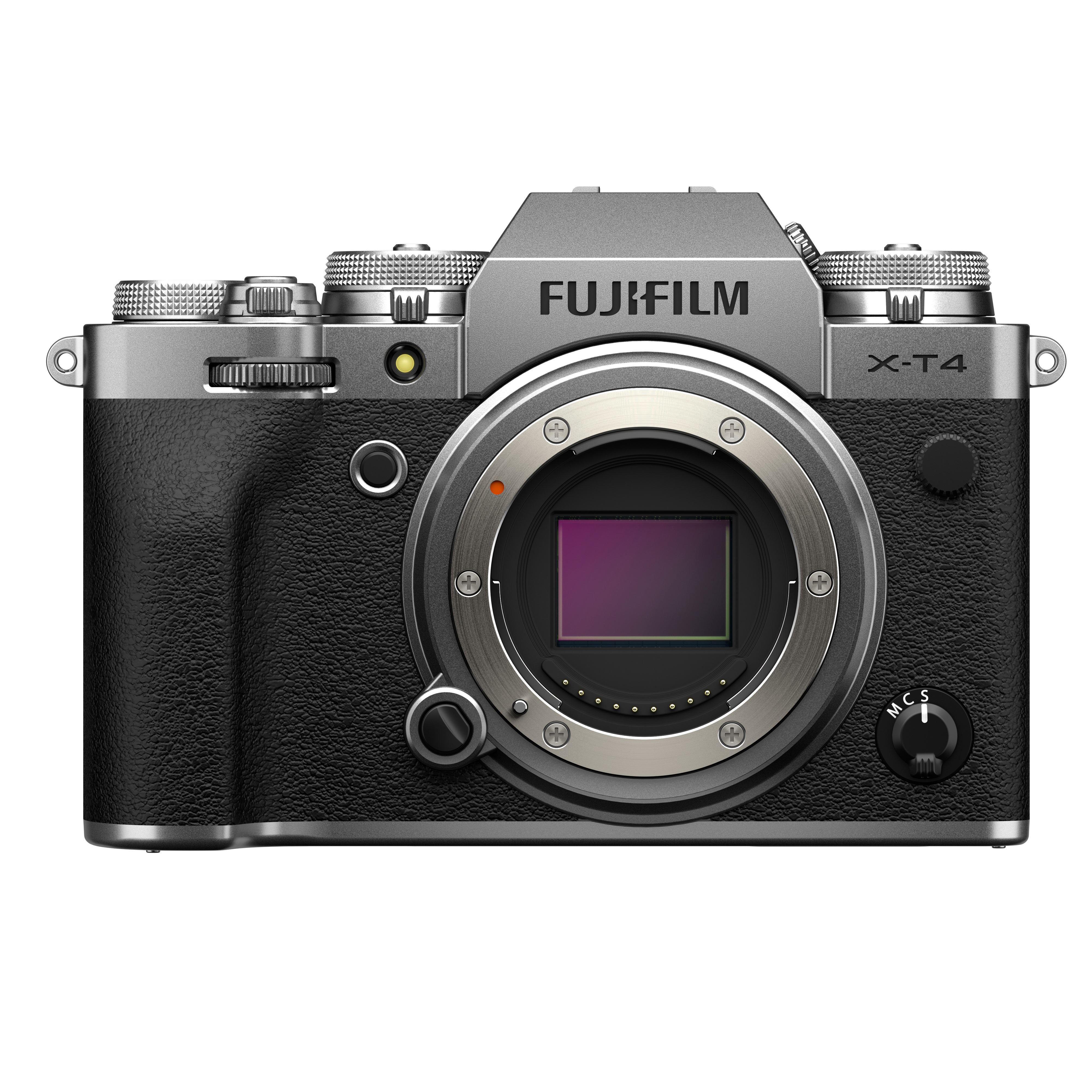 Fujifilm X-T4 Digital Camera Body - Silver