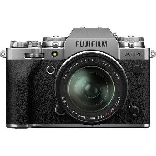 Fujifilm X-T4 Digital Camera with XF 18-55mm Lens - Silver