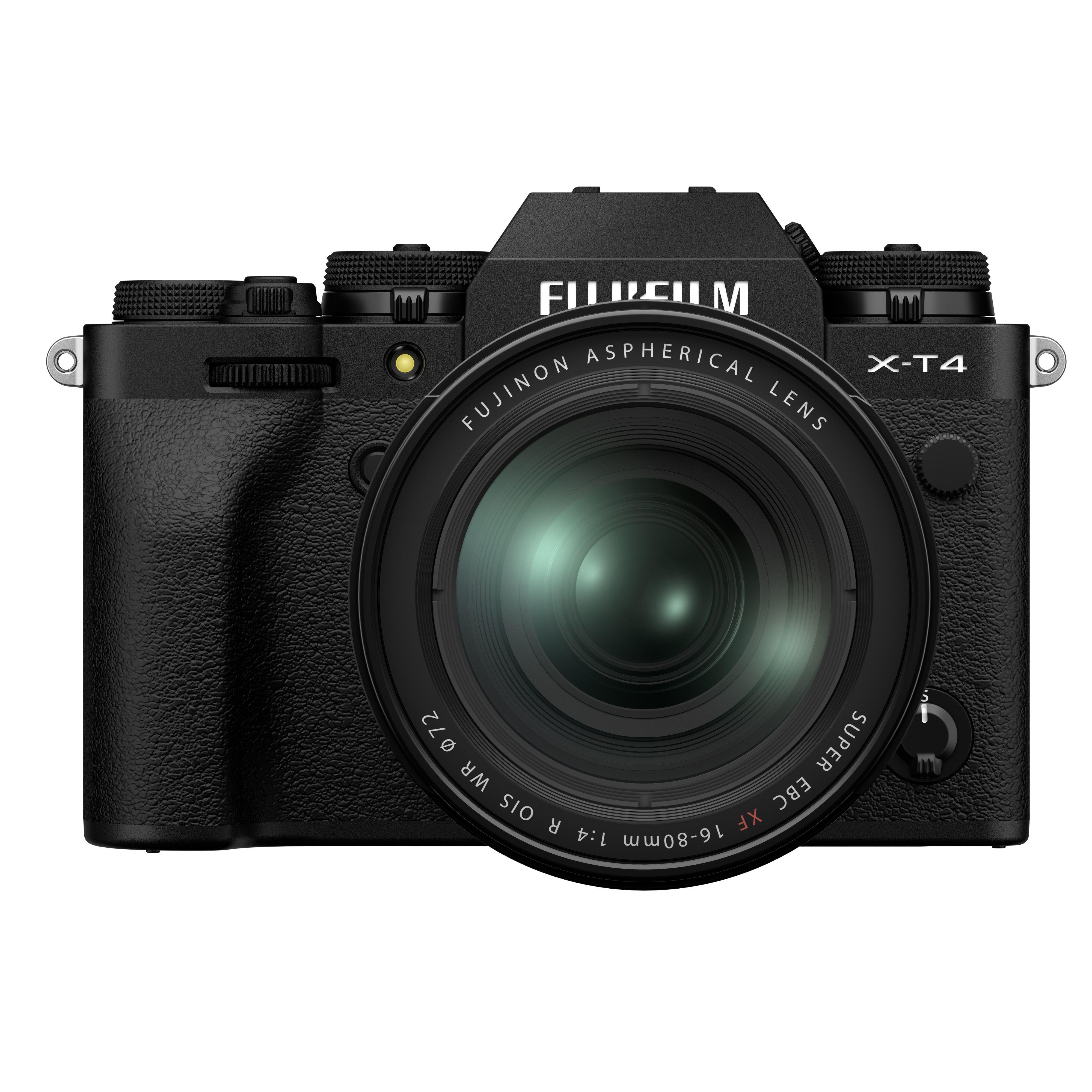 Fujifilm X-T4 Digital Camera with XF 16-80mm Lens - Black