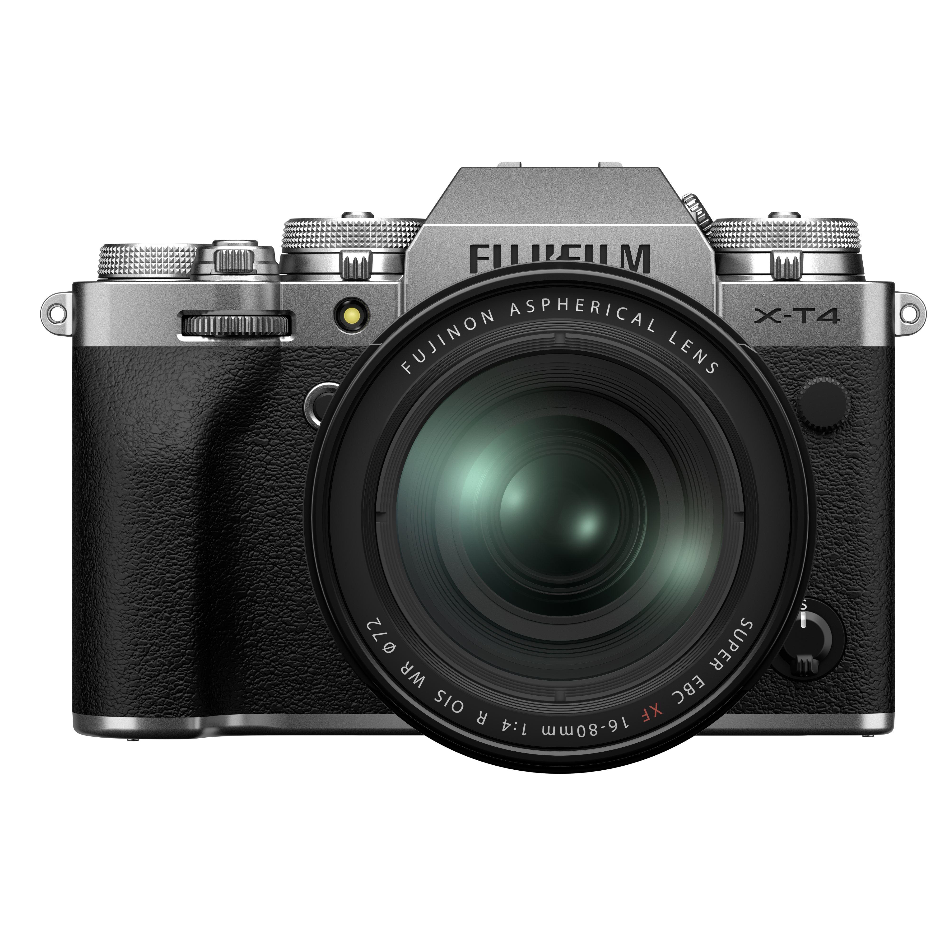 Fujifilm X-T4 Digital Camera with XF 16-80mm Lens - Silver