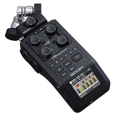 Image of Zoom H6 Black Digital Audio Recorder