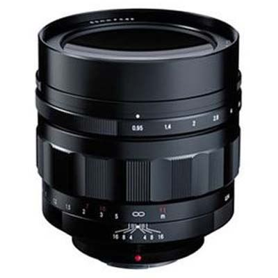 Voigtlander 60mm f0.95 Nokton Lens - Micro Four Thirds Fit