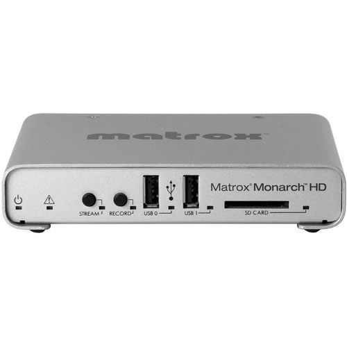 Image of Matrox Monarch HD Professional Video Streaming and Recording Appliance HDMI
