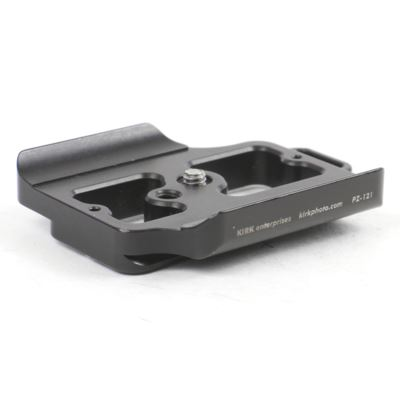 Used Kirk PZ-121 Quick Release Camera Plate for Nikon D3 Nikon D3s and Nikon D3x
