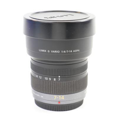 Used Panasonic 7-14mm f4 LUMIX G Vario Micro Four Thirds lens