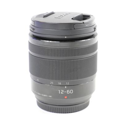 Used Panasonic 12-60mm f3.5-5.6 LUMIX G VARIO POWER O.I.S Micro Four Thirds Lens