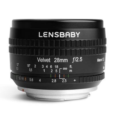 Lensbaby Velvet 28mm f2.5 Lens - Canon EF Fit