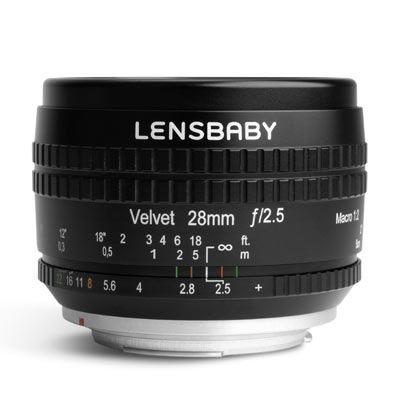 Lensbaby Velvet 28mm f2.5 Lens - Nikon F Fit