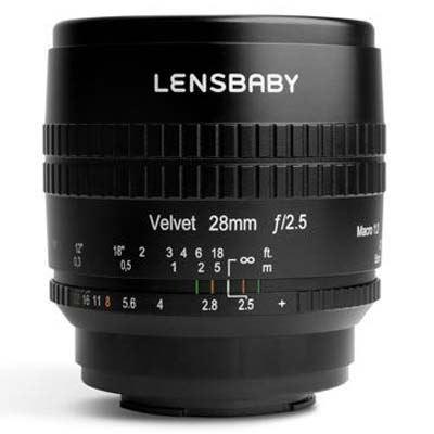 Lensbaby Velvet 28mm f2.5 Lens - Fujifilm X Fit