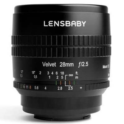 Lensbaby Velvet 28mm f2.5 Lens - Micro Four Thirds Fit