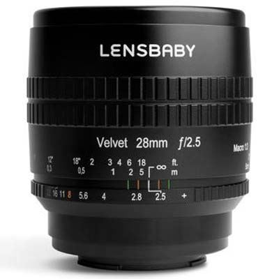 Image of Lensbaby Velvet 28mm f2.5 Lens - Canon RF Fit