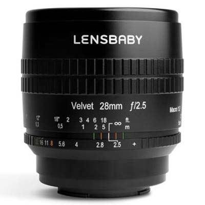 Image of Lensbaby Velvet 28mm f2.5 Lens -Nikon Z Fit