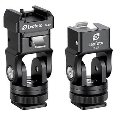 Image of Leofoto FA-15+FA-10 Cold + Hot Shoe Adapter