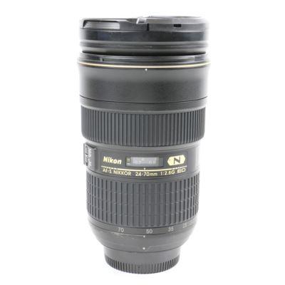 Used Nikon 24-70mm f2.8 G AF-S ED Lens