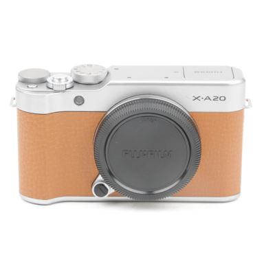 Used Fujifilm X-A20 Digital Camera - Brown