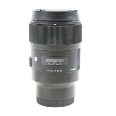 Used Sigma 35mm f1.4 DG HSM Art Lens - Sony E Fit