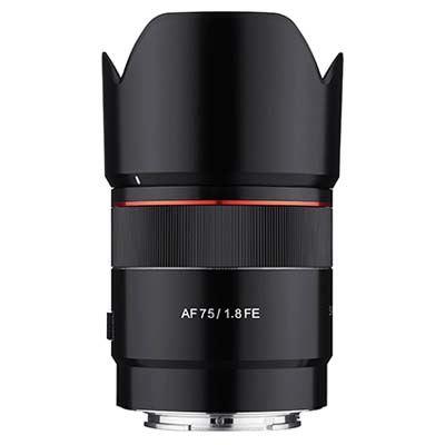 Samyang AF 75mm f1.8 Lens - Sony FE Fit