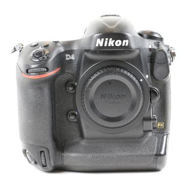 Used Nikon D4 Digital SLR Camera Body