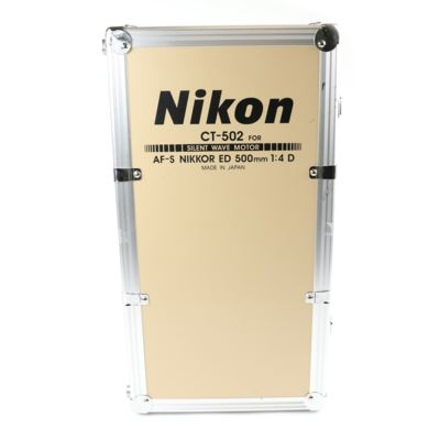 Used Nikon CT-502 Trunk Lens Case