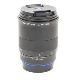 Used Zeiss 100mm f2 Makro-Planar Milvus ZE Lens - Canon EF Mount