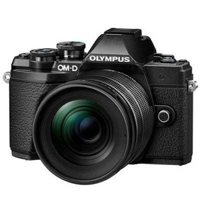 Image of Olympus OM-D E-M5 Mark III Digital Camera with 12-45mm Lens - Black