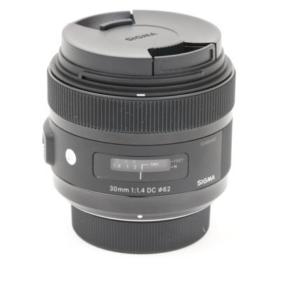 Used Sigma 30mm f1.4 DC HSM A Lens - Nikon Fit