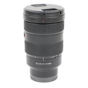 Used Sony FE 24-70mm f2.8 G Master Lens