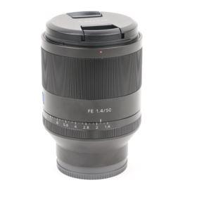 Used Sony FE 50mm f1.4 ZA Planar T* Lens