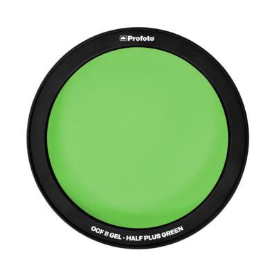 Profoto Off Camera Flash II Gel - Half Plus Green