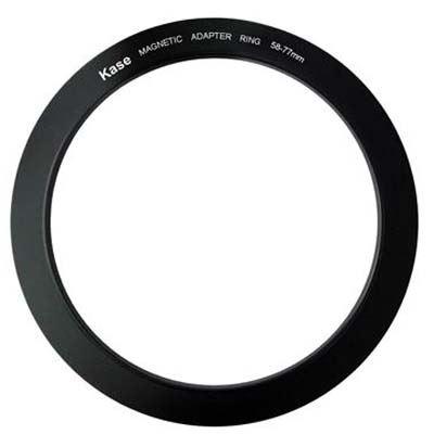 Kase 58-77mm Magnetic Circular Step Up Ring