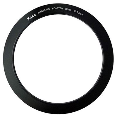 Kase 58-82mm Magnetic Circular Step Up Ring