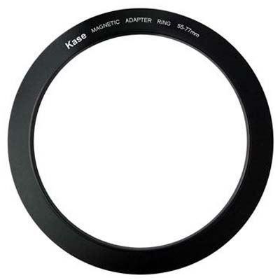 Kase 55-77mm Magnetic Circular Step Up Ring