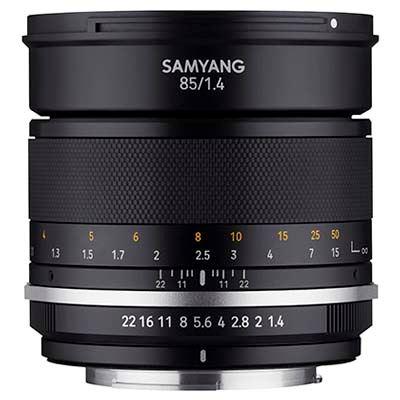 Samyang MF 85mm f1.4 MK2 - Nikon F Fit