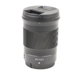 Used Nikon Z 24mm f1.8 S Lens