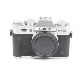 Used Fujifilm X-T30 Digital Camera Body - Silver