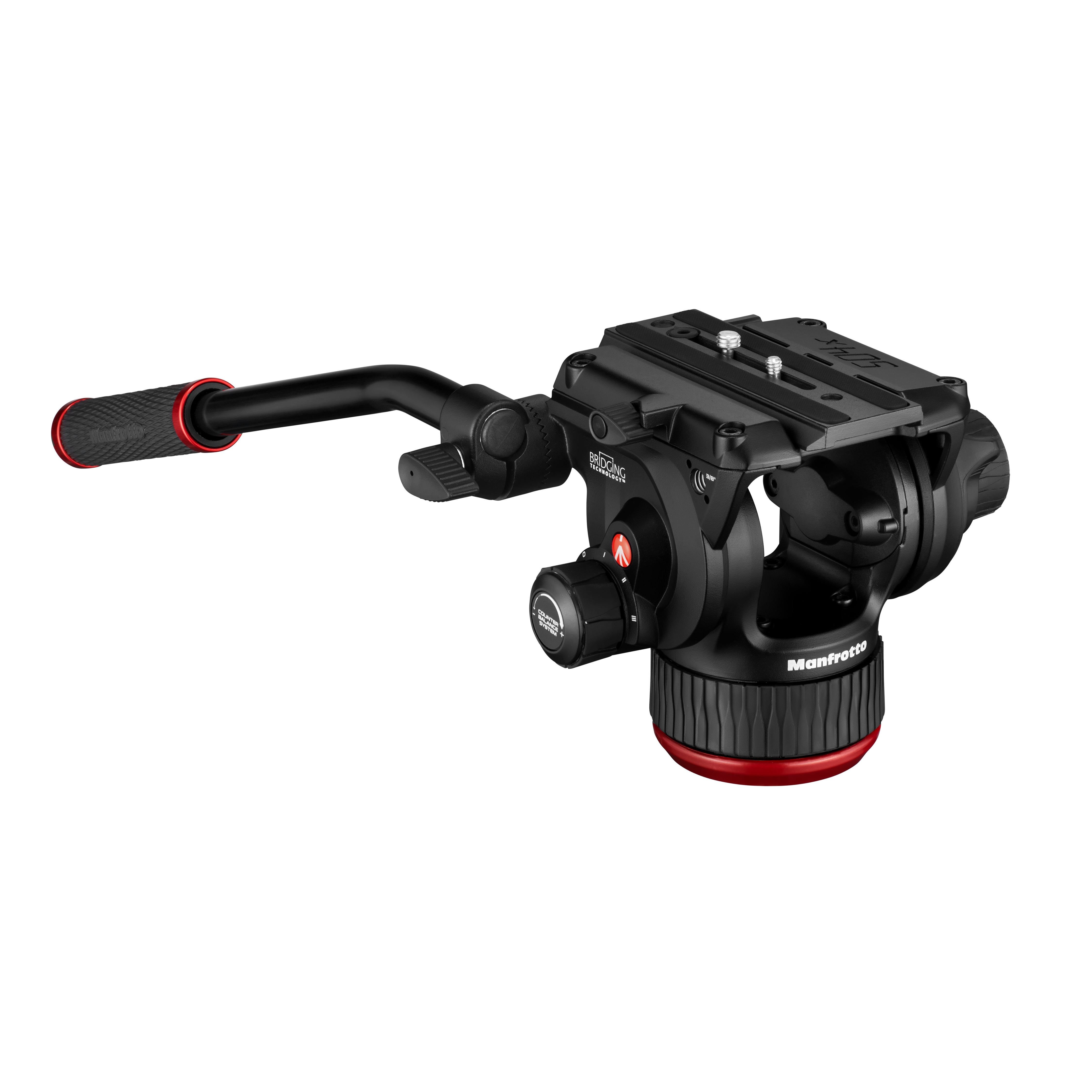 Image of Manfrotto 504X Fluid Video Head with Flat Base