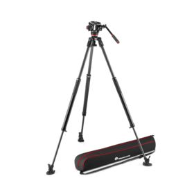 Manfrotto 504X Fluid Video Head with 635 Fast Single Carbon Leg