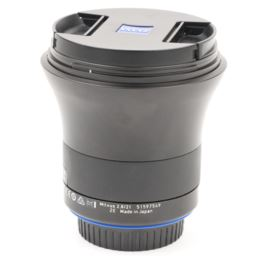 Used Zeiss 21mm f2.8 Milvus ZE Lens - Canon EF Mount