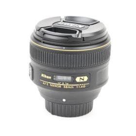 Used Nikon 58mm f1.4 G AF-S Lens