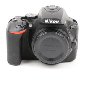 Used Nikon D5500 Digital SLR Camera Body - Black