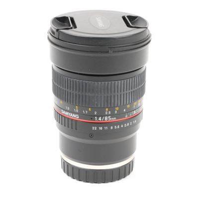 Used Samyang 85mm f1.4 AS IF UMC Lens - Sony FE Mount