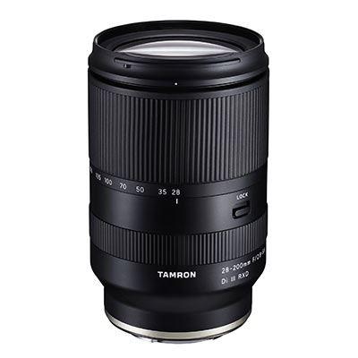 Tamron 28-200mm f2.8-5.6 Di III RXD - Sony E Fit