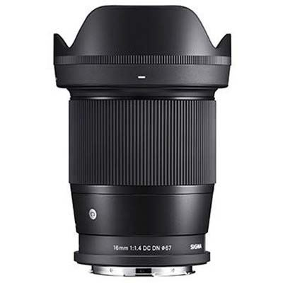 Image of Sigma 16mm f1.4 DC DN- L-Mount