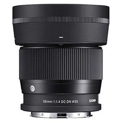 Sigma 56mm f1.4 AF DC DN Contemporary Lens - L-Mount