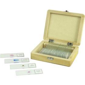 Celestron Prepared Microscope Slides - 25 piece box